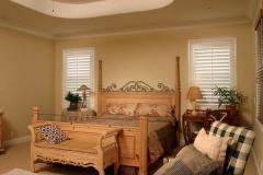 bedroom-silk-white-plantation-shutters-open